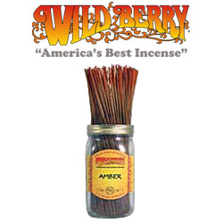 Amber Incense Sticks by Wild Berry Incense