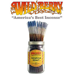 Arabian Night Incense Sticks by Wild Berry Incense