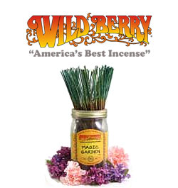 Magic Garden Incense Sticks by Wild Berry Incense