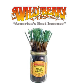 Polo Crest Incense Sticks by Wild Berry Incense