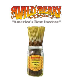 Summer Day Incense Sticks by Wild Berry Incense