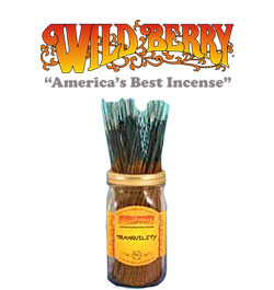 Tranquility Incense Sticks by Wild Berry Incense