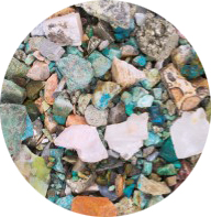 Andean Mine Rough Mix [Quarter Pound]