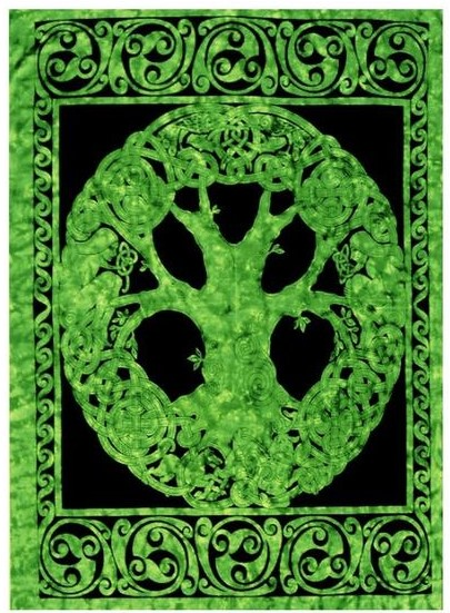 Celtic Tree of Life Tapestry  (60