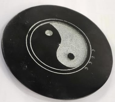 Stone Burner - Yin Yang Incense Burner