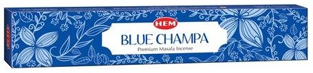 HEM  Masala Incense Blue Champa - 15 Gram Box