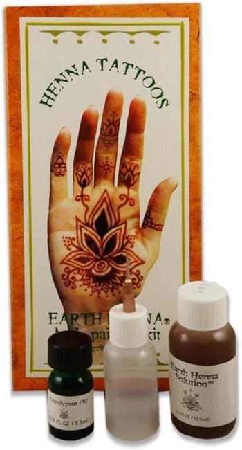 Henna Mehndi Tattoo Kit