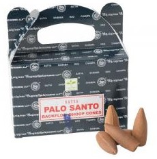 Satya Backflow Cones - Palo Santo - [24 pc]