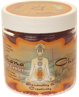 Prabhuji's Gifts Chakra Indian Resins - Sacral (Svadhishtana) - 2.4 oz.