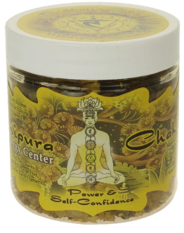 Prabhuji's Gifts Chakra Indian Resins - Solar Plexus (Manipura) - 2.4 oz.
