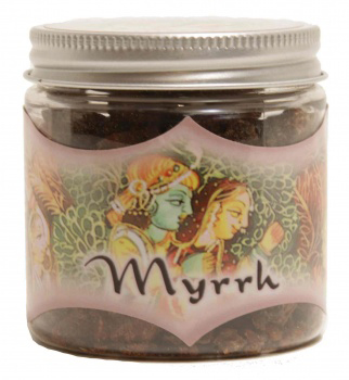 Prabhuji's Gifts Exotic Indian Resins - Myrrh Resin - 2.4 oz.