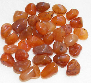 Tumbled  & Polished Carnelian
