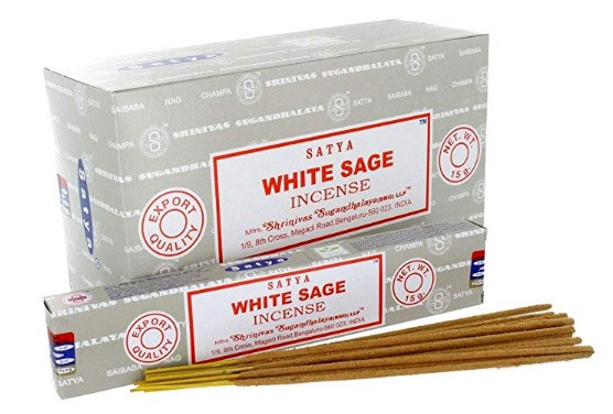 Satya Incense - White Sage - 15gr