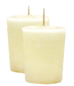 Angel Wings Crystal Journey Traditional Votive Candles [ 2 ]