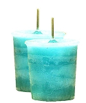 Ascended Masters & Guides Crystal Journey Herbal Magic Votive Candles [ 2 ]