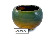 Ceramic Japanese Handthrown Bowl - Seascape