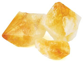 Citrine Gemstone Points - Raw & Small