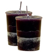 Clove Crystal Journey Traditional Votive Candle - 2 Candles