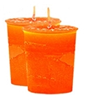 Compassion Crystal Journey Herbal Magic Votive Candles [ 2 ]