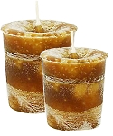 Confidence Crystal Journey Herbal Magic Votive Candles [ 2 ]