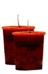 Courage Crystal Journey Herbal Magic Votive Candles [ 2 ]