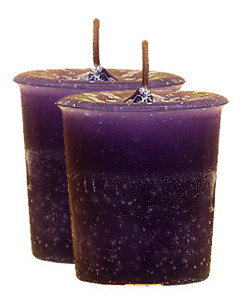 Motivation Crystal Journey Herbal Magic Votive Candles [ 2 ]