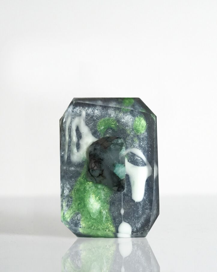Crystal Bar Soap - Element Collection - Earth (Mini)