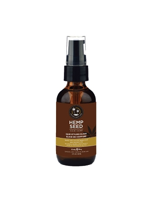 Earthly Body Hemp Seed Hair Styling Elixir - 2oz