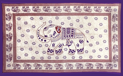 #11-Indian Elephant Tapestry