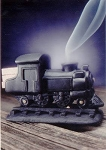 Incienso de Santa Fe - Steam Engine Incense Burner w/Pinon Incense