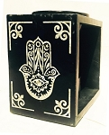 DISCONTINUED - Soapstone Oil Burner - Fatima Hand