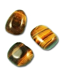 Tiger Eye Tumbled & Polished Gemstone