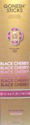 Gonesh Extra Rich Incense - Black Cherry Incense