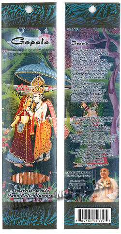 Prabhuji's Gifts Incense - Gopala - Special Flora Incense