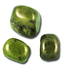 Green Jade Tumbled & Polished Gemstone