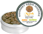 Gourmet Resin Incense - Myrrh 1.5 oz. Tin