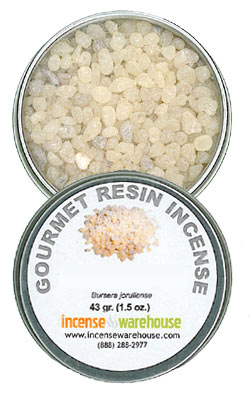Gourmet Resin Incense - Mayan Copal 1.5 oz. Tin