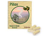 Incienso de Santa Fe - Piñon Incense - 20 Bricks