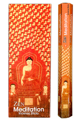 Kamini Incense - Zen Meditation Incense - 20 Gram Hex pack