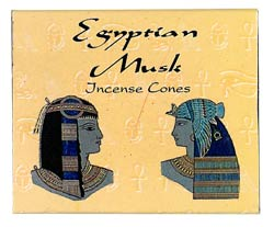 Kamini Cone Incense - Egyptian Musk Incense Cones