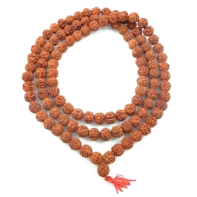 Mala Prayer Beads - Rudraksha Seeds