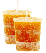 Maple Syrup Crystal Journey Traditional Votive Candles [ 2 ]