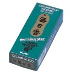 Morning Star Incense - Cedarwood Incense 200 Stick Box