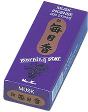 Morning Star Incense - Musk Incense 200 Stick Box