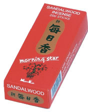 Morning Star Incense - Sandalwood Incense 200 Stick Box