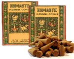 Namaste Incense Cones - Cedarwood