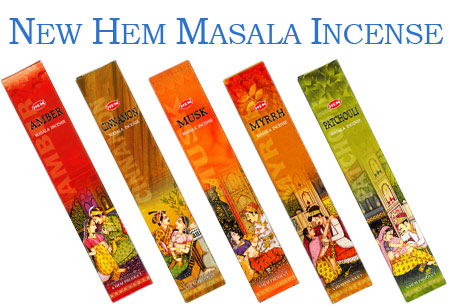 New Hem Masala Incense