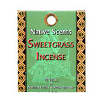 Native Scents Incense - Sweetgrass Incense