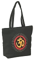 Cotton Embroidered OM Tote Bag With a Handle