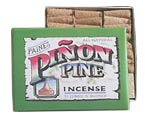 Paine's 32 Incense Cones w/ Holder - Piñon Pine
